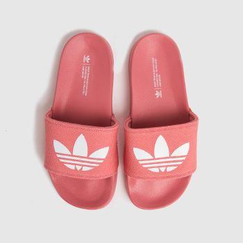 adidas Pink Adilette Lite Womens Trainers