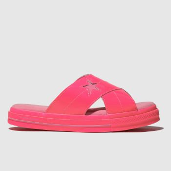 Converse Pink One Star Opi Womens Sandals