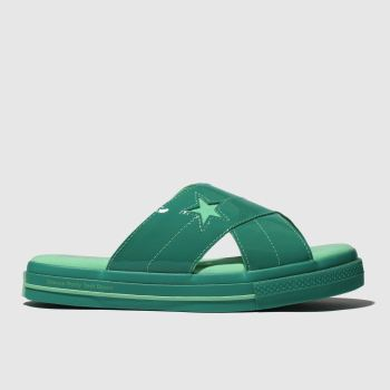 Converse Green One Star Opi Womens Sandals