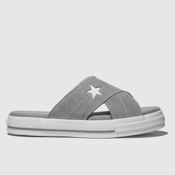 2b4f4b370c Converse Light Grey One Star Sandal Womens Sandals