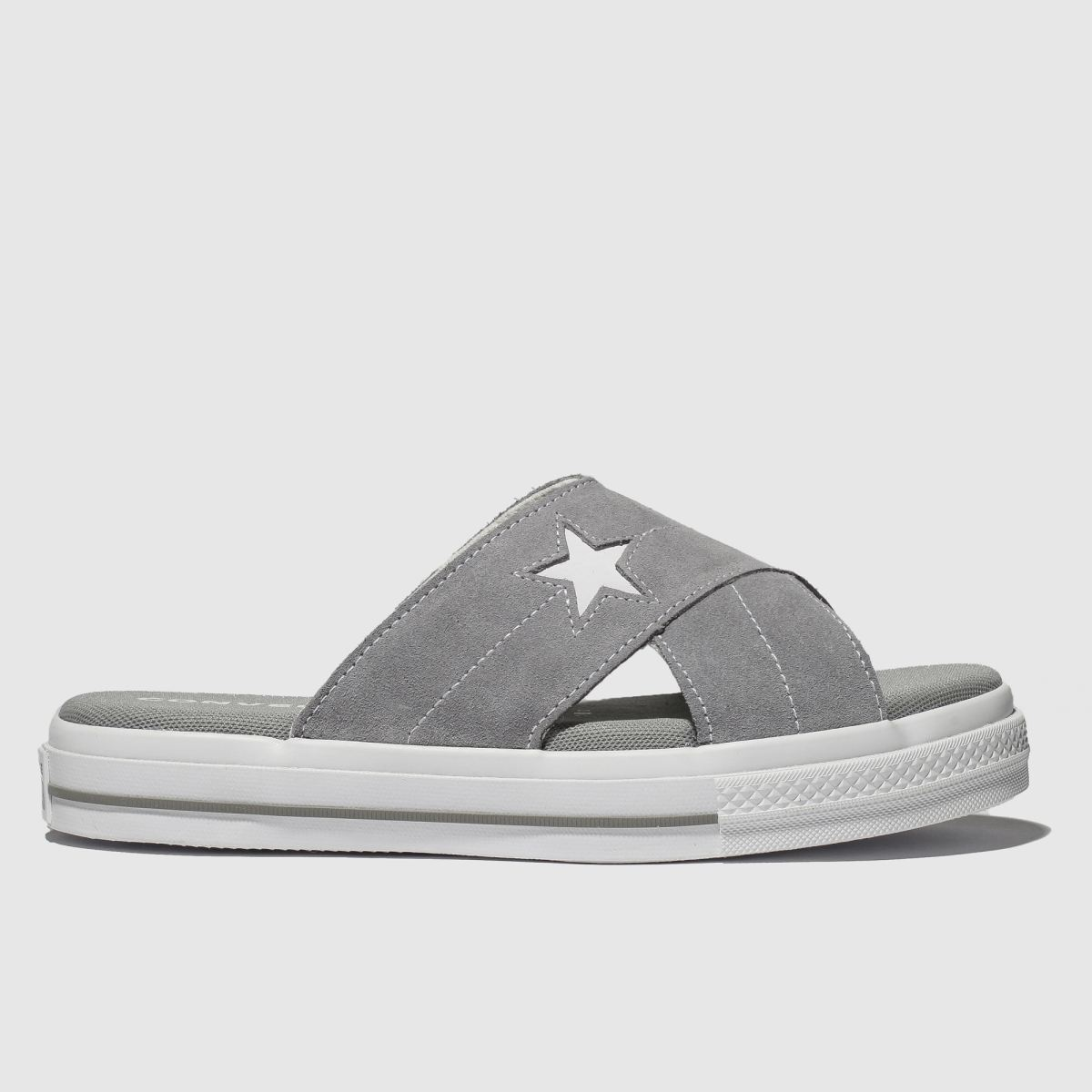 Converse Light Grey One Star Sandal Sandals