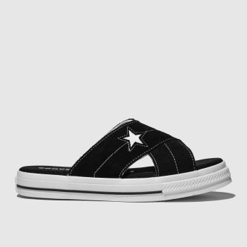 Converse Black & White One Star Sandal c2namevalue::Womens Sandals