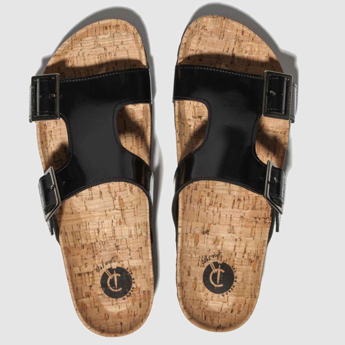 Red Or Dead Black Charlie Sandals