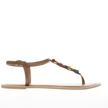 Schuh Tan Polly Womens Sandals