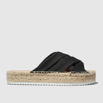 Schuh Black Cuba Womens Sandals