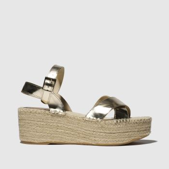 Schuh Gold Stockholm Womens Sandals