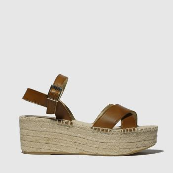 schuh Tan Stockholm Womens Sandals