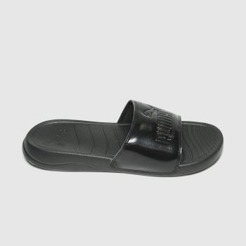 PUMA Black Popcat 20 Womens Sandals