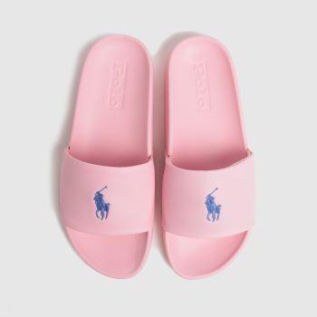 LAUREN RALPH LAUREN Pale Pink Cayson Slide Womens Sandals
