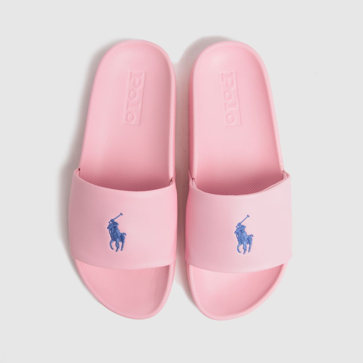 LAUREN RALPH LAUREN Pale Pink Cayson Slide Sandals