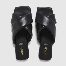 schuh Tania Leather Cross Strap 1