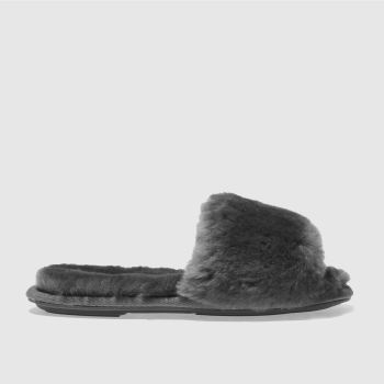 Schuh Grey Softy Womens Slippers