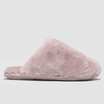 Schuh Pink Lounge Around Womens Slippers