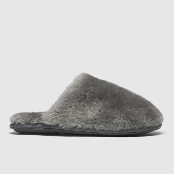 Schuh Grey Lounge Around c2namevalue::Womens Slippers
