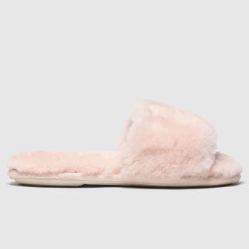 schuh pale pink sadie slippers