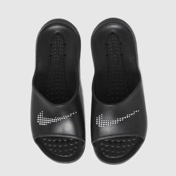 Nike Black & White Victori One Womens Sandals
