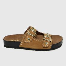 schuh Tatyana Suede Studded Footbed,1 of 4
