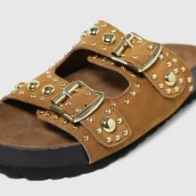 schuh Tatyana Suede Studded Footbed,3 of 4
