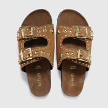 schuh Tatyana Suede Studded Footbed,4 of 4