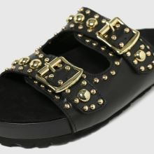 schuh Tatyana Leather Studded 1