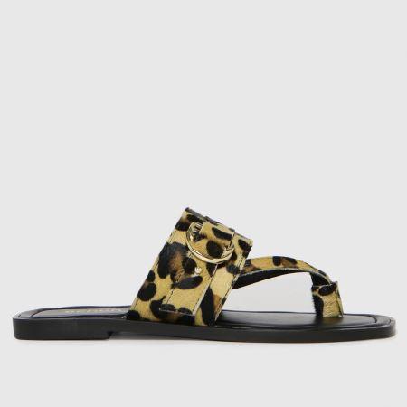 schuh Terri Leather Toe Post Buckletitle=