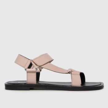 schuh Natural Trinityleather Multi Strap Womens Sandals