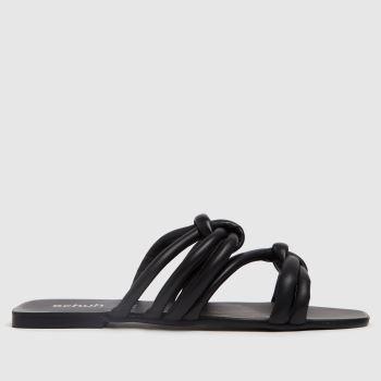 schuh Black Talise Knot Sandal Womens Sandals