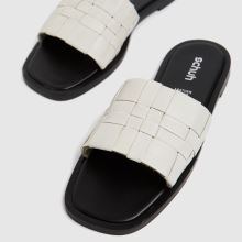schuh Tease Woven Detail Mule,3 of 4