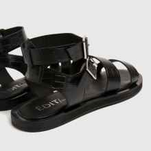 schuh The Edit Petra Croc Leather,4 of 4