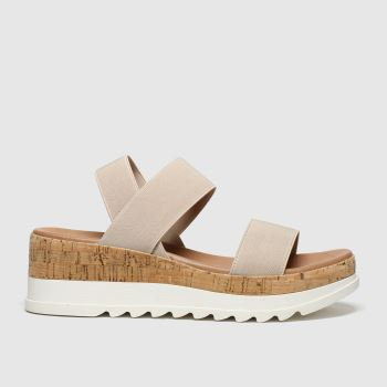 Schuh Natural Las Vegas Womens Sandals