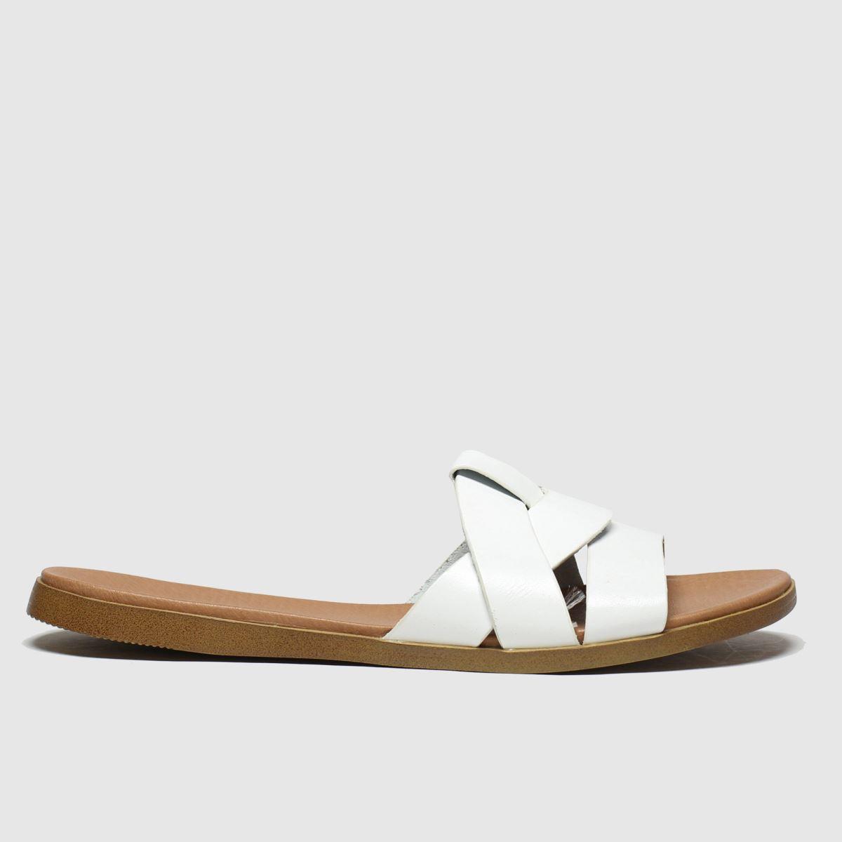 schuh Schuh White Geneva Sandals