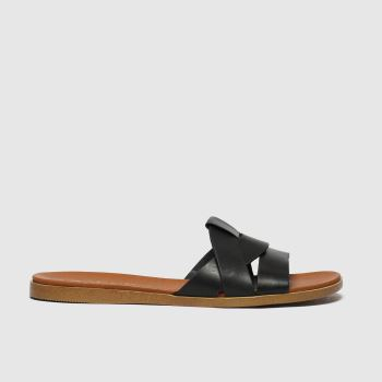 Schuh Black Geneva Womens Sandals