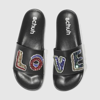 Schuh Black True Love Womens Sandals