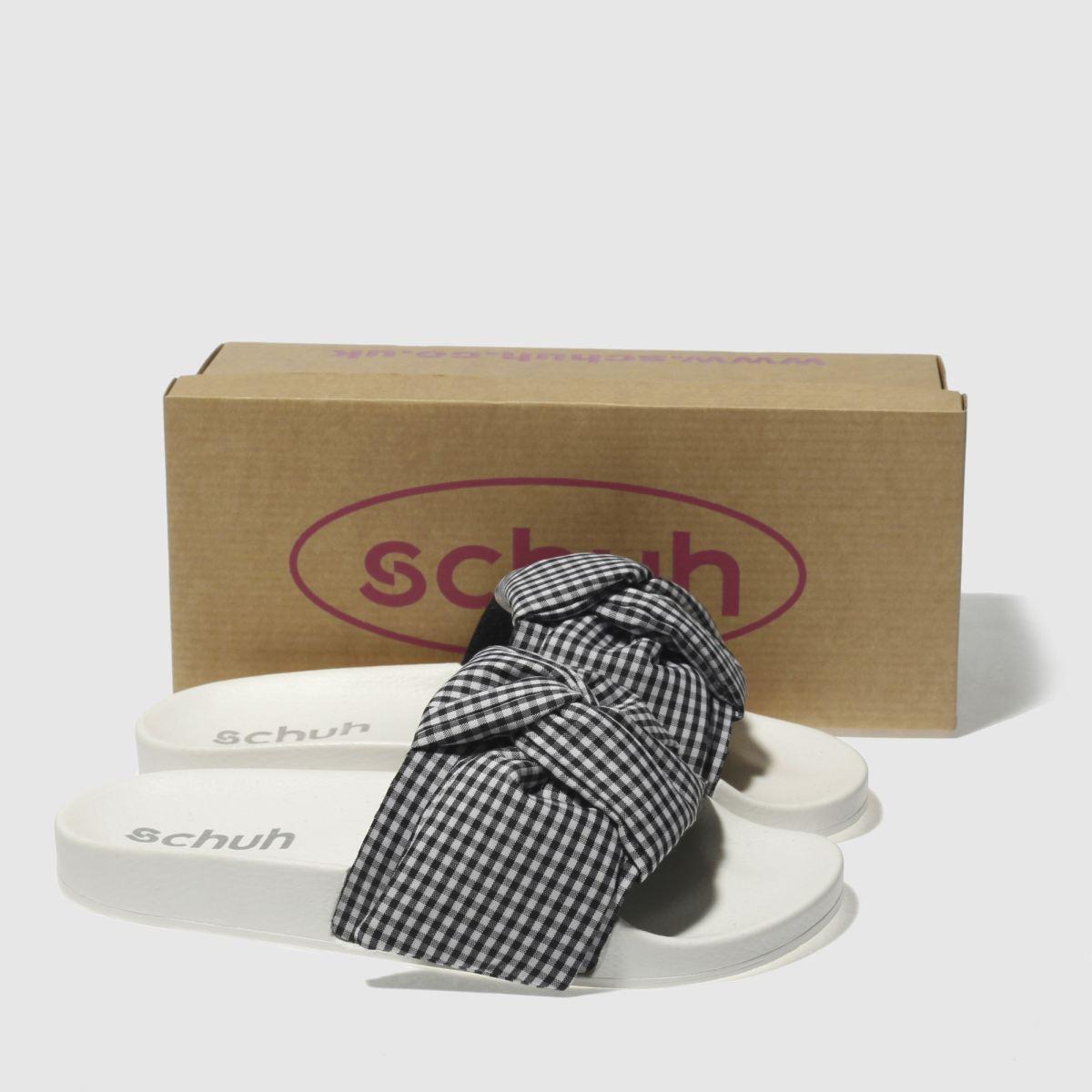 Damen Schwarz-weiß schuh Bestie Slider Sandalen   Schuhe schuh Gute Qualität beliebte Schuhe   b13537