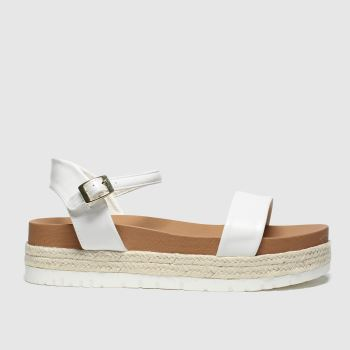 Schuh White Portofino c2namevalue::Womens Sandals