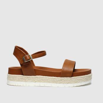 Schuh Tan Portofino Sandals