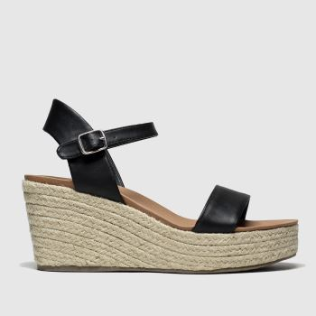 Schuh Black Bahamas Womens Sandals