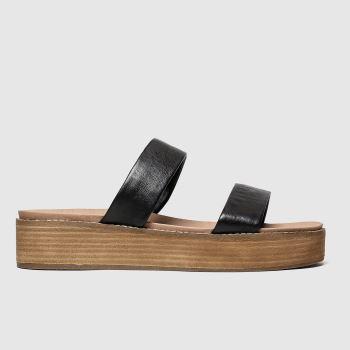 Schuh Black Como Sandals