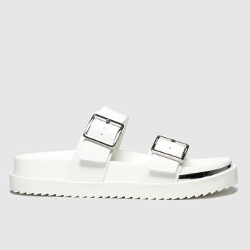 schuh White Superstitious Womens Sandals