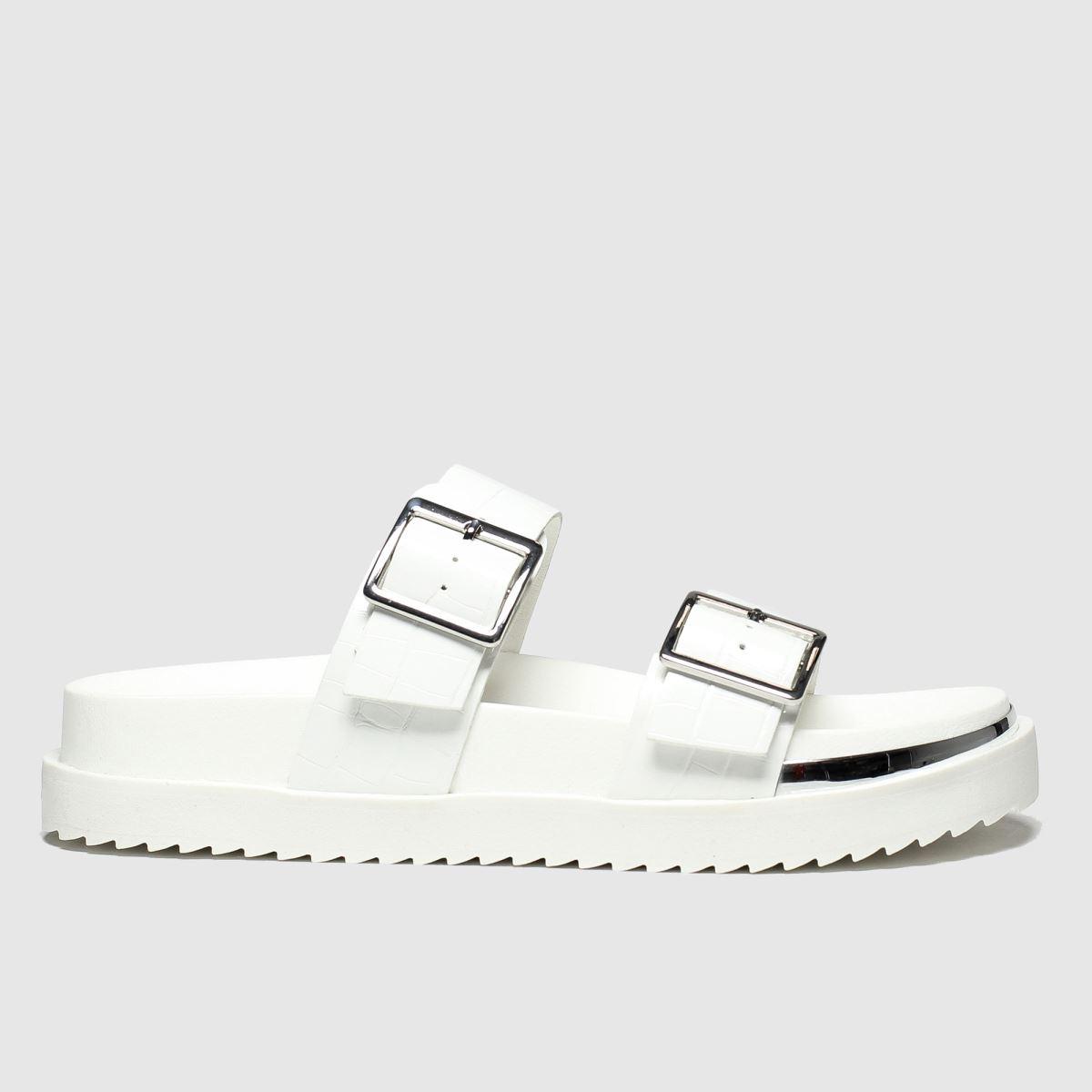schuh Schuh White Superstitious Sandals