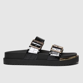 schuh Black Superstitious Sandals