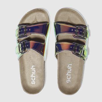 schuh gold hawaii sandals