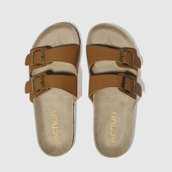 Schuh Tan Hawaii Womens Sandals