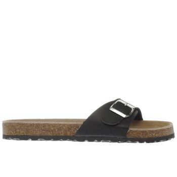 Schuh Black Cornwall Womens Sandals