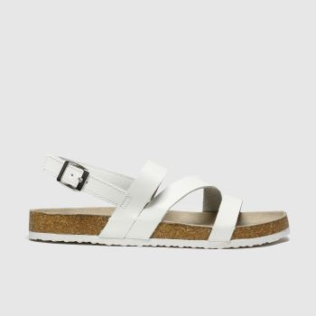 Schuh White Aloha c2namevalue::Womens Sandals