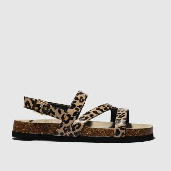Schuh Brown Aloha Womens Sandals