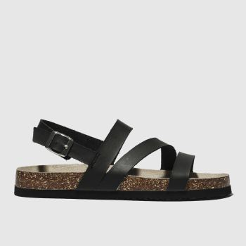 Schuh Black Aloha Womens Sandals#