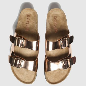Schuh Bronze Dominican Womens Sandals