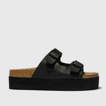 Schuh Black Dominican Womens Sandals