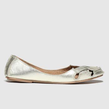 schuh Gold Kas Womens Sandals